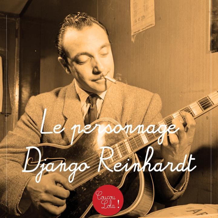 Le personnage : (lo que no sabías de) DjangoReinhardt