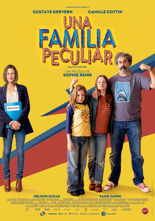 297 Una familia peculiar Poster 70x100 72dpi