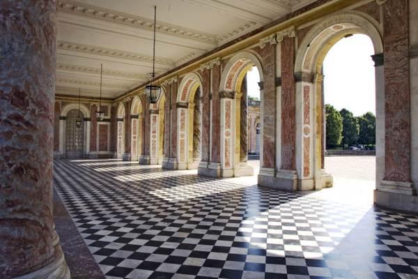 grand trianon, parc du chateau de versailles, 78, île de france