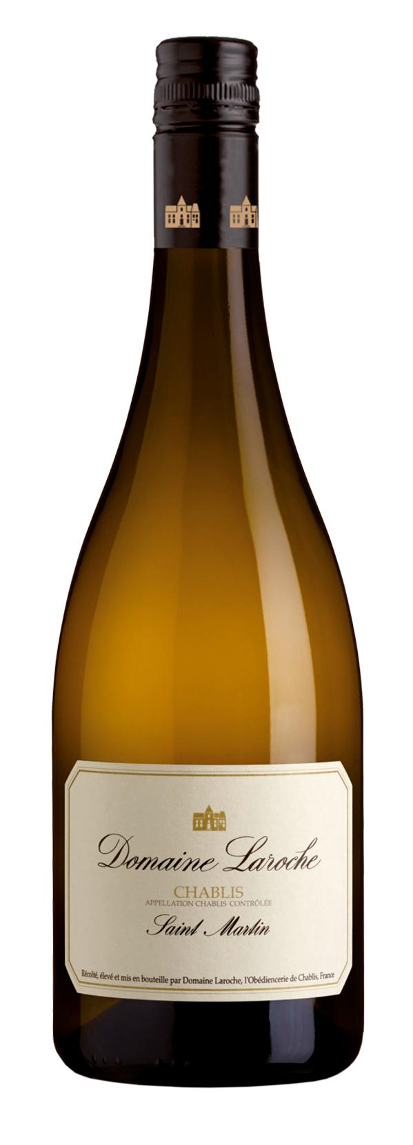 botella domaine laroche saint martin