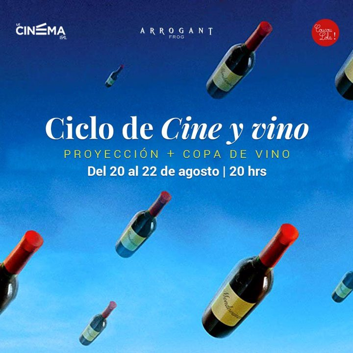 Agenda Coucou Lola ! | Cine + vino en Le CinémaIFAL