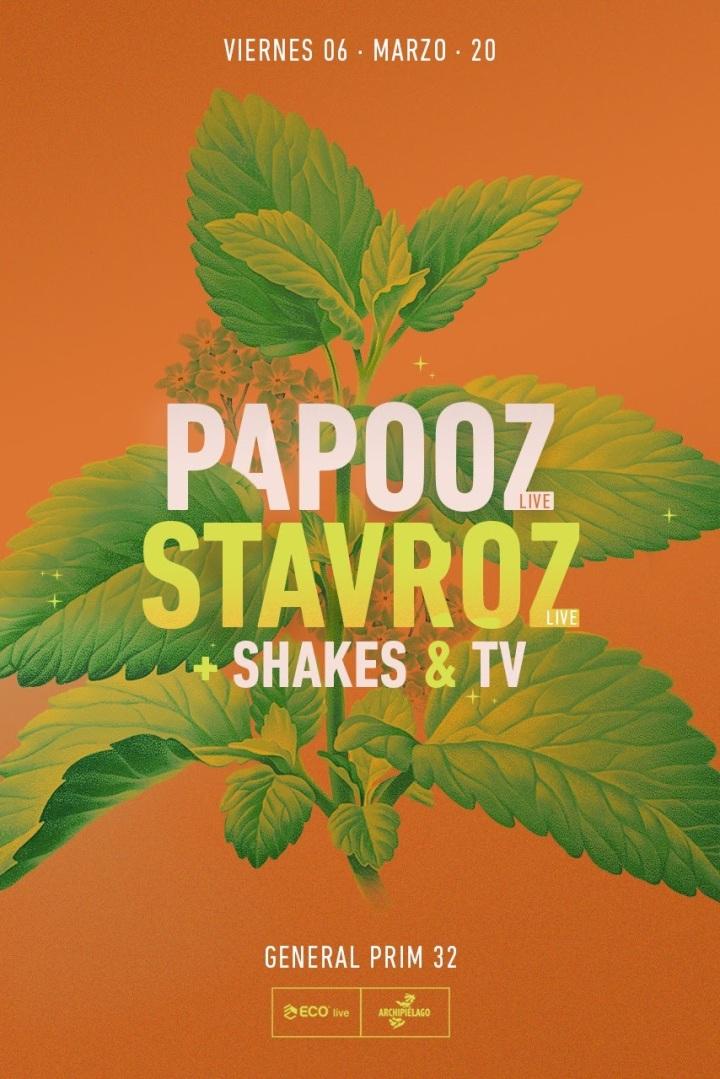 Papooz y Stavroz Flyer