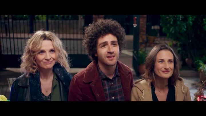 (Review) Cine francés en línea  |  'De tal madre, tal hija': humor y familia con Juliette Binoche y CamilleCottin