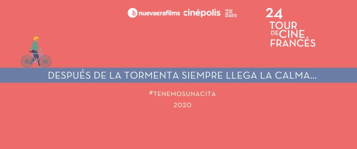 24º Tour de Cine Francés devela su teaseroficial