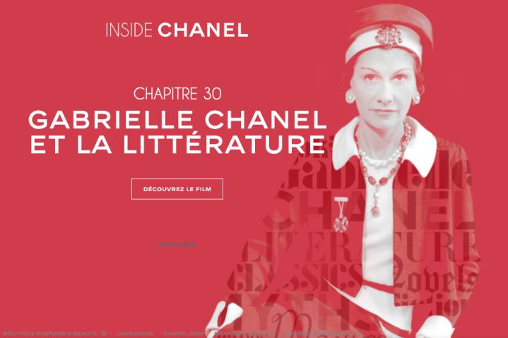 Sumérgete en el mundo de Coco Chanel en InsideChanel